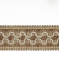 "Fabricut 2"" Beach House Trim Mocha"