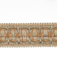 "Fabricut 2"" Beach House Trim Cantaloupe"