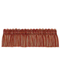 "French General 2"" Bernadette Brush Fringe Rouge"