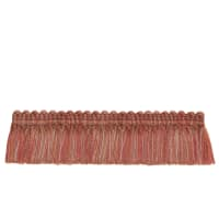 "French General 2"" Bernadette Brush Fringe Rose"