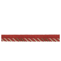 French General Cartier Cord Trim Rouge