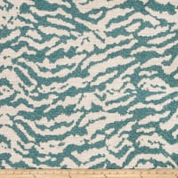 Fabricut Crossing Chenille Teal