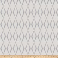 Fabricut Dada Diamond Linen Blend Grey