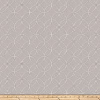 Fabricut Despot Lattice Silver