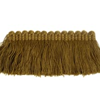 "Fabricut 2"" Everclear Brush Fringe Olive"