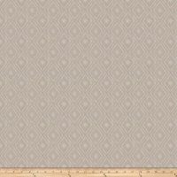 Fabricut Gilcrease Diamond Linen Blend Pewter Sheen