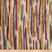 Fabricut Parquet Stripe Chenille Curry