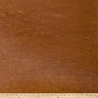 Fabricut Pewter Faux Leather Brandy