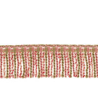 "Fabricut 2.5"" Porch Swing Bullion Fringe Watermelon"