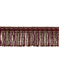 "Fabricut 2.5"" Porch Swing Bullion Fringe Mansion"