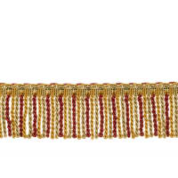 "Fabricut 2.5"" Porch Swing Bullion Fringe Foliage"