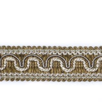 "Fabricut 1.25"" Resort Trim Natural"