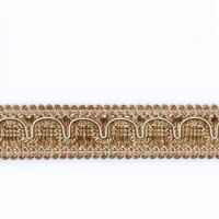 "Fabricut 1.25"" Resort Trim Nutria"