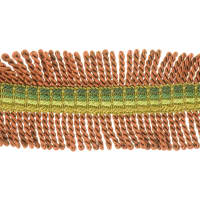 "Fabricut 2.25"" Shinzan Bullion Fringe Copper"