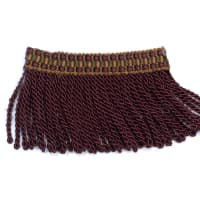 "Fabricut 2.25"" Tenango Bullion Fringe Autumn Berry"