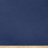 Fabricut Zinc Faux Leather Navy