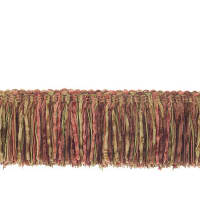 "Trend 2.25"" 01464 Brush Fringe Coral"