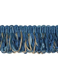 "Jaclyn Smith 1.75"" 02109 Loop Fringe Cobalt"