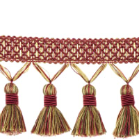 "Trend 3.5"" 02497 Tassel Fringe Strawberry"