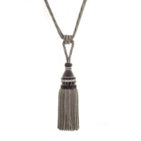 "Trend 32"" 02500 Single Tassel Tieback Grey"
