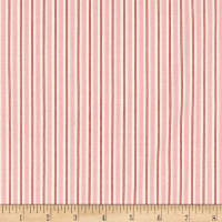Riley Blake Kewpie Christmas Stripes Pink