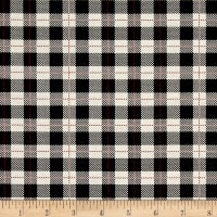 Riley Blake Comfort and Joy Plaid Black