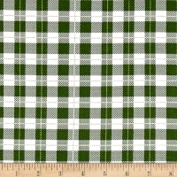 Riley Blake Comfort and Joy Plaid Green