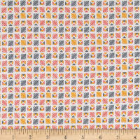 Penny Rose Linen and Lawn Geometric Yellow