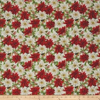 Anne of Green Gables Poinsettias White