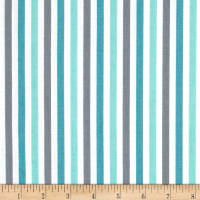 Riley Blake Sharktown Stripe Teal