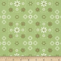 "Riley Blake Bee Backings and Borders 108"" Quilt Back Bandana Green"