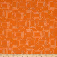 Riley Blake Bee Basics T.V. Orange