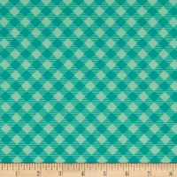 Riley Blake Bee Basics Gingham Teal