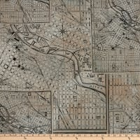 Tim Holtz Dapper Street Maps Black
