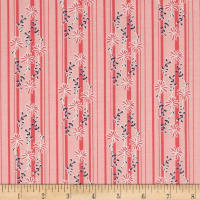 Riley Blake Daisy Days Stripe Pink