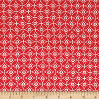 Riley Blake Daisy Days Chain Red