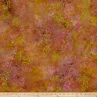 Indian Batik Abstract Floral Rose/Sand
