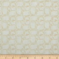 Riley Blake Bee Backgrounds Canning Jar Yellow