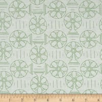 Riley Blake Bee Backgrounds Cool Green
