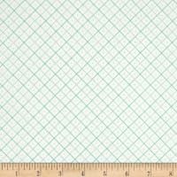 Riley Blake Bee Backgrounds Grid Teal