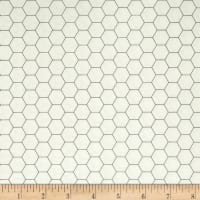 Backgrounds Honeycomb Gray