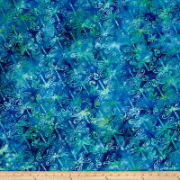 Anthology Batik  Dragonflies Lime/Royal