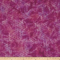 Anthology Batik Large Floral Magenta