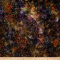 Anthology Batiks Ovals Purple/Multi