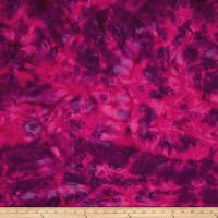 "Anthology Batik 108"" Wide Back Handye Magenta/Purple"