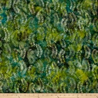 Anthology Batik Print Ferns Multi/Green