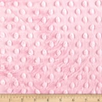 Michael Miller Minky Solid Dot Candy