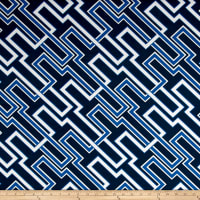 Premier Prints Indoor/Outdoor Jasper Cobalt