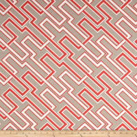 Premier Prints Indoor/Outdoor Jasper Beech Wood/Indian Coral