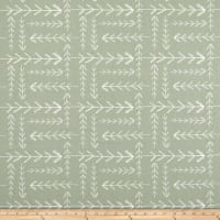 Premier Prints Native Sundown Green